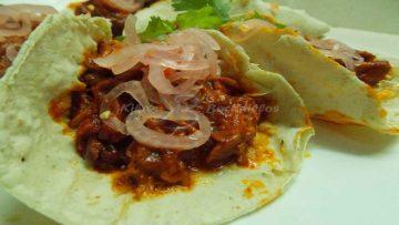 Tacos de Cochinilla Pibil