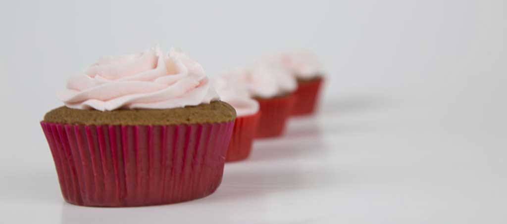 Strawberries Cupcakes